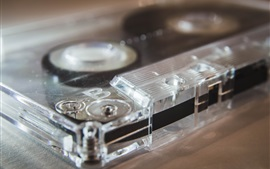 Preview wallpaper Cassette macro photography