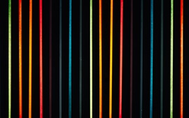 Preview wallpaper Colorful neon lights, lines
