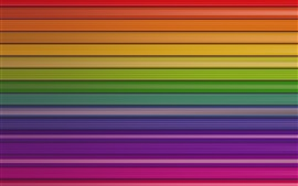 Preview wallpaper Colorful striped lines, abstract