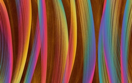 Preview wallpaper Colorful vertical lines, abstract design