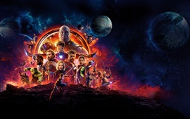 Preview wallpaper DC Comics movie, Avengers 3: Infinity War