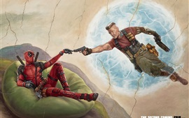 Preview wallpaper Deadpool 2, art picture