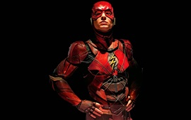 Preview wallpaper Ezra Miller, The Flash, Justice League