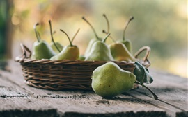 Preview wallpaper Fruit, green pears