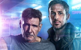Preview wallpaper Harrison Ford, Ryan Gosling, Blade runner 2049