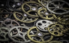 Preview wallpaper Many gears
