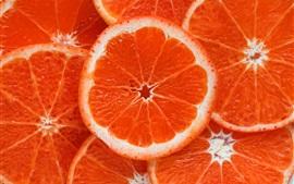 Preview wallpaper Orange slices, fruit