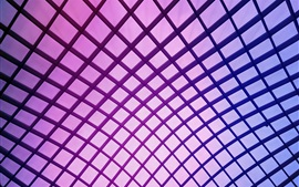 Purple mesh, creative design