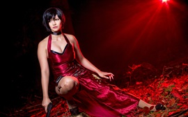 Preview wallpaper Resident Evil 4, cosplay girl