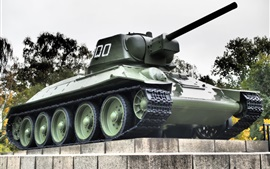 Tanque T-34, monumento
