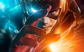 Preview wallpaper The Flash, hero, hand