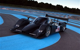 Preview wallpaper Aston Martin black F1 race car