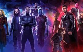 Preview wallpaper Avengers: Infinity War, superheroes