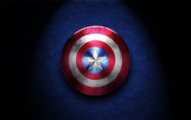 Preview wallpaper Captain America, shield