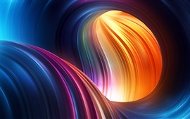 Preview wallpaper Colorful shape, abstract picture