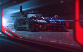 Preview wallpaper Dodge Viper future supercar