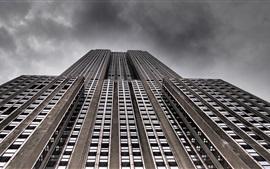 壁紙のプレビュー エンパイアステートビルディング、ニューヨーク、アメリカ合衆国
