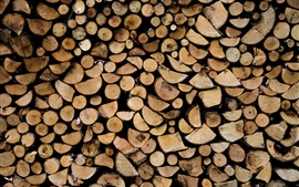 Preview wallpaper Firewood, wood background