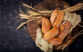 Preview wallpaper Food, bread, wheat