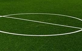 Preview wallpaper Football lawn