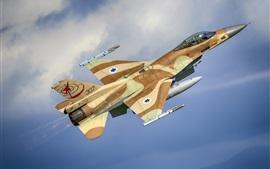 Lutador da General Dynamics F-16C Barak