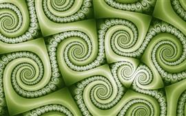 Cachos verdes textura de fundo, abstrato
