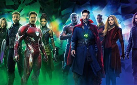 Preview wallpaper Hot movie 2018, Avengers: Infinity War