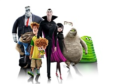 Preview wallpaper Hotel Transylvania 2, white background