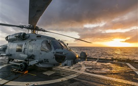 Preview wallpaper MH-60R Seahawk helicopter