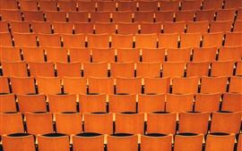 Muchos asientos, hall
