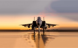 Preview wallpaper McDonnell Douglas F-15SA fighter front view