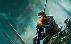 Metal Gear Solid V: The Phantom Pain, imagen artística