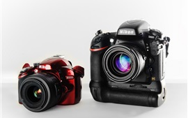 Preview wallpaper Nikon D3200 and D800 cameras