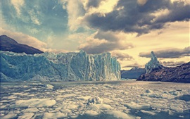 Preview wallpaper Perito Moreno Glacier, Argentina, glacier, ice, cold