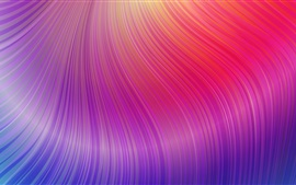 Purple curves, abstract picture