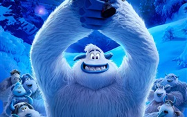 Preview wallpaper Smallfoot 2018