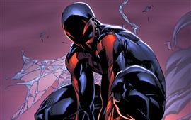 壁紙のプレビュー スパイダーマン2099、マーベルコミックス