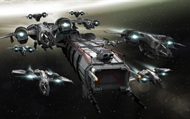 Preview wallpaper Star Citizen, spaceship