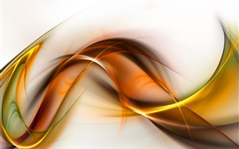 Wavy lines, abstract picture