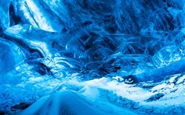 Invierno, hielo, frío