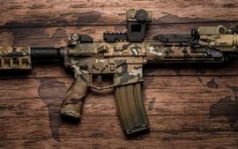 Aperçu fond d'écran AR-15 Fusil semi-automatique