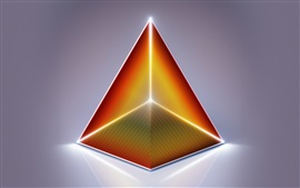 Preview wallpaper Abstract pyramid, triangle, design