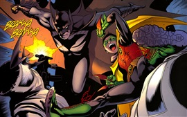 Batman and Robin, Dark Knight, imagen de arte