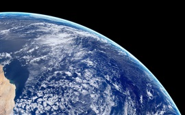 Preview wallpaper Beautiful Earth, blue planet, space
