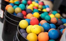 Preview wallpaper Colorful balls