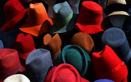 Preview wallpaper Colorful hats