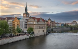 Czech Republic, Prague, Smetana Museum, Vltava