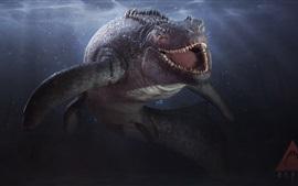 Глубина, видеоигры, акула, зубы