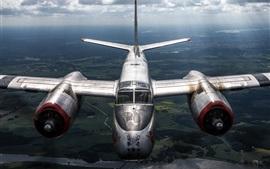 Douglas A-26B bombardier central