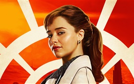 Preview wallpaper Emilia Clarke, Solo: A Star Wars Story